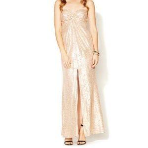 Trina Turk Leylee Long Strapless Dress, Size 4